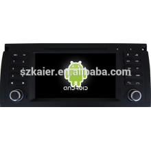 Android 4.4 Mirror-link Glonass/GPS 1080P dual core car central multimedia for BMW E39 with GPS/Bluetooth/TV/3G